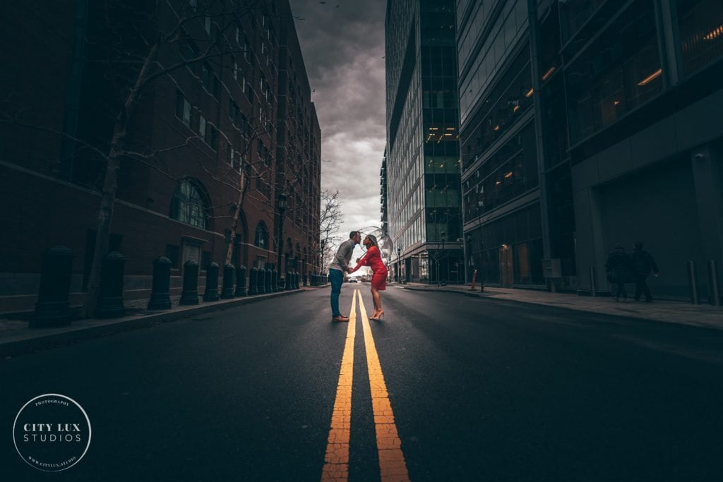 boston seaport proposal photography surprise